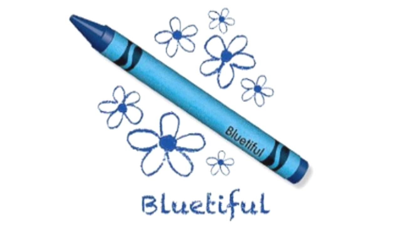 Crayola releases new color 'Bluetiful'