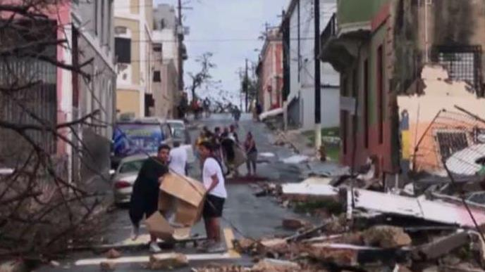 Puerto Rico Governor Ricardo Rossello on the growing humanitarian crisis in the aftermath of Hurricane Maria.