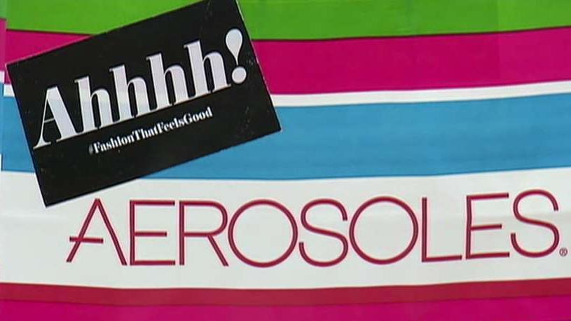 Aerosoles has filed for Chapter 11 bankruptcy in order to restructure its finances. FBN's Stuart Varney with more.