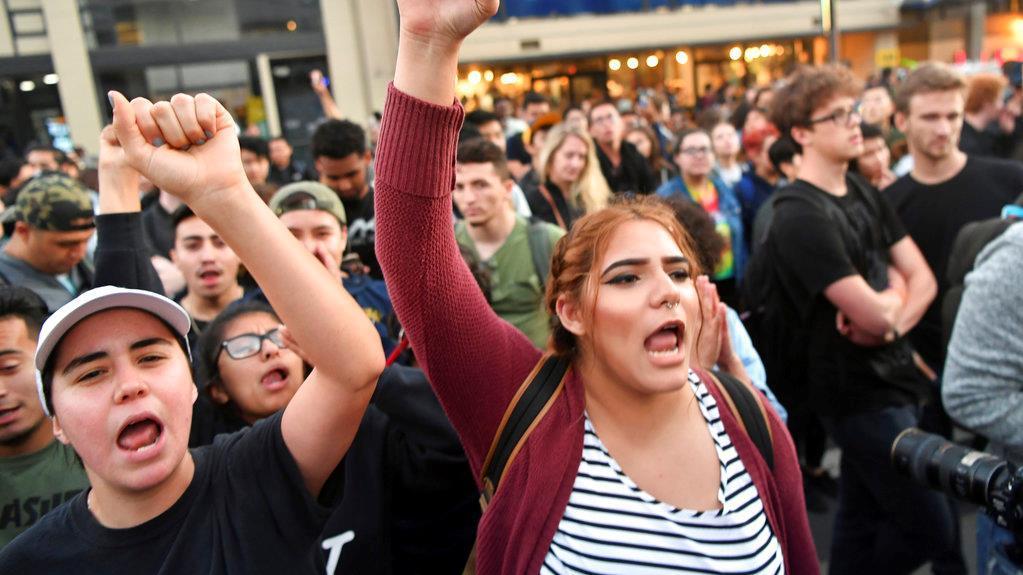 UC Berkeley student Jonathan Chow on free-speech protests.