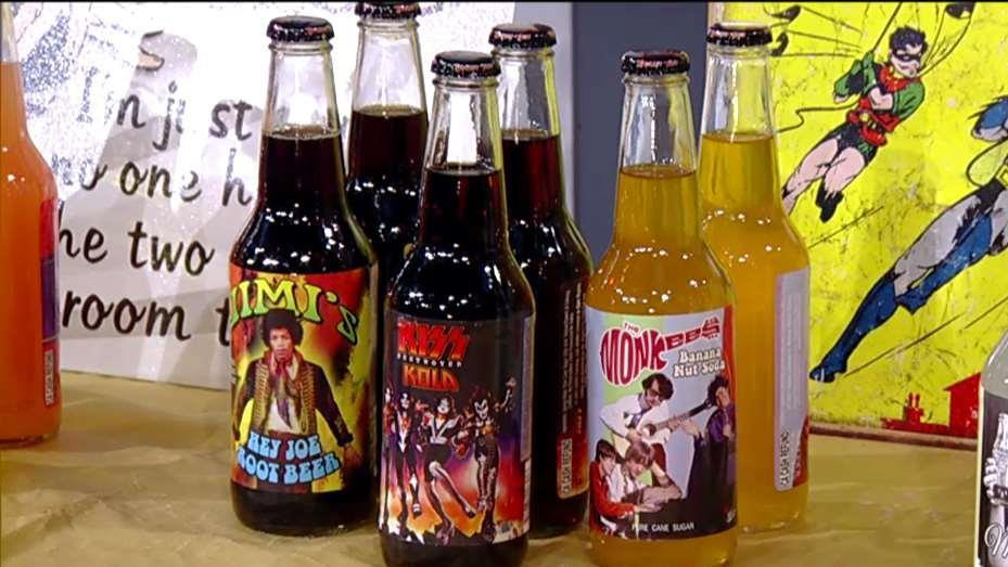 Rocket Fizz co-founders Robert Powells and Ryan Morgan on the company's celebrity licensing for its sodas and its unique flavors.