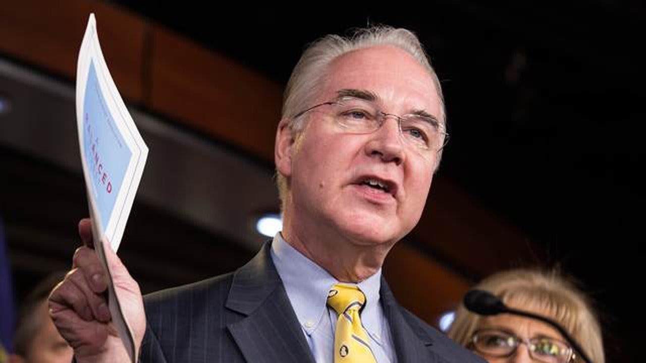 HHS Secretary Dr. Tom Price on efforts to get hospitals up and running after Irma and the future of health care reform.