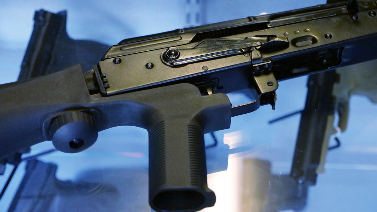Maslansky and Partners President Lee Carter and former FBI Joint Terror Task Force member Steve Rogers on whether bump stocks should be regulated.