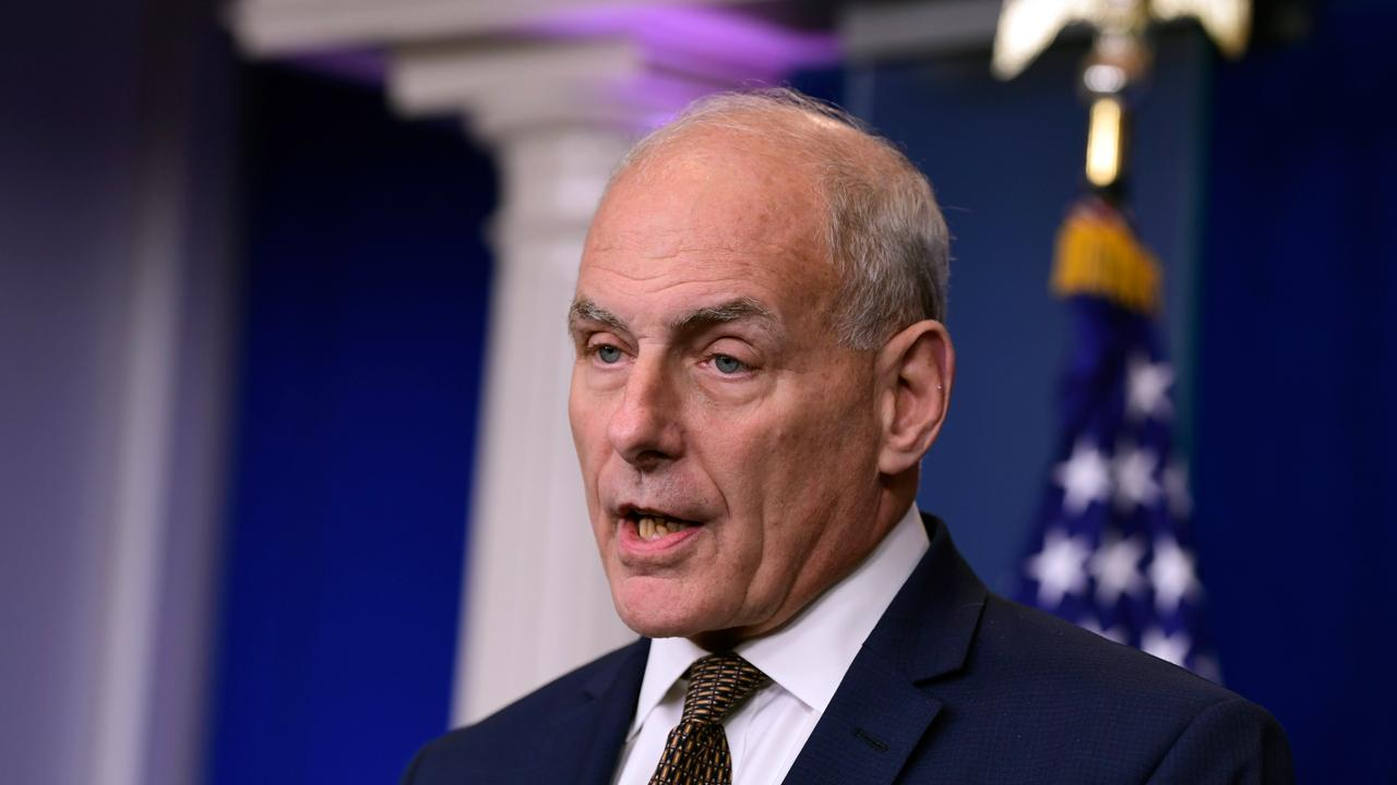 During a White House press briefing, President Trump's Chief of Staff Gen. John Kelly addressed the ongoing controversy surrounding Trump's phone call to a Gold Star family, and discusses his own experiences after his 29-year-old son died in action.