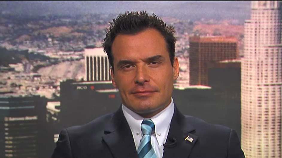 Actor Antonio Sabato, Jr., on his Republican congressional bid in California, immigration and Sen. Dianne Feinstein's re-election bid.
