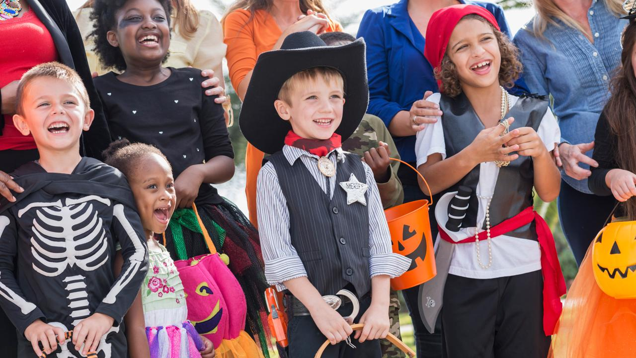 Party City CEO James Harrison discusses this year's popular Halloween costumes and Halloween profits.