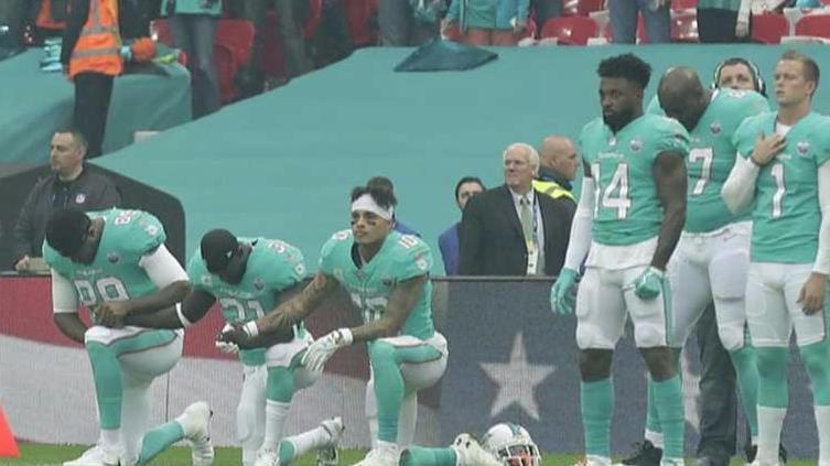 Sgt. Demetrick Pennie, president of the Dallas Fallen Officer Foundation, says he is not surprised to see empty seats at NFL games due to the anthem protests.