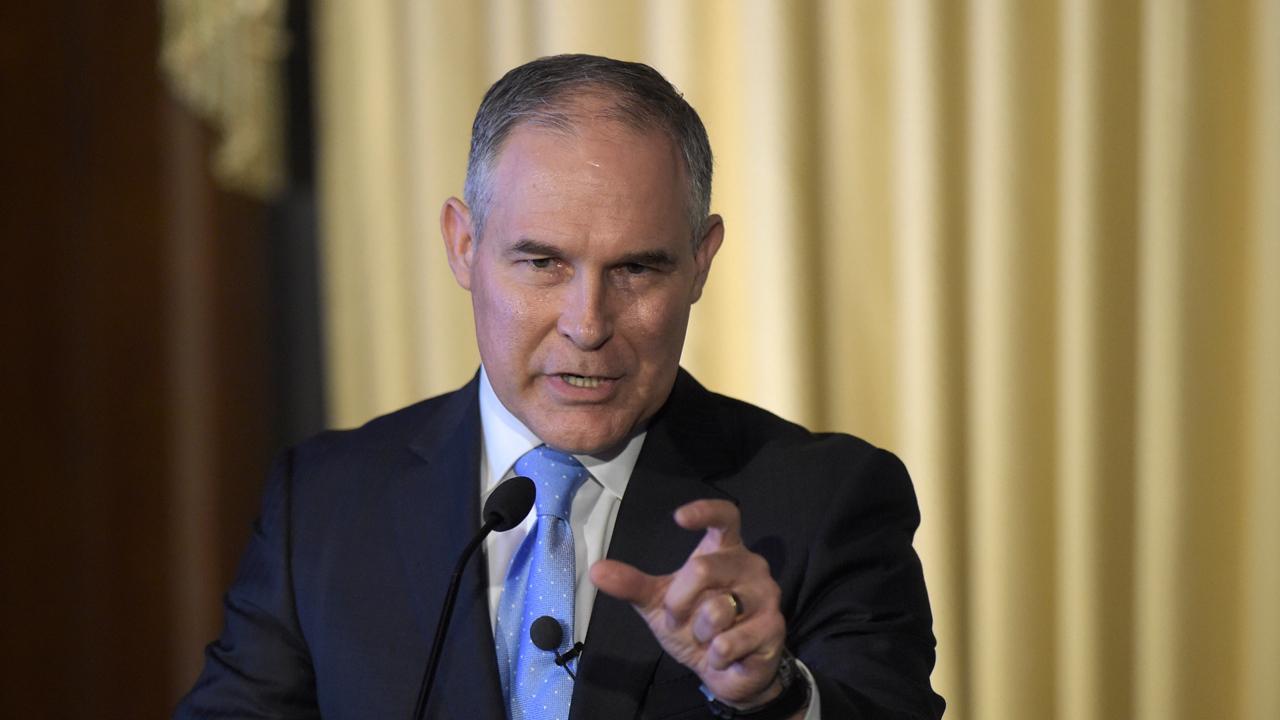 EPA Administrator Scott Pruitt on Obama-era energy restrictions.