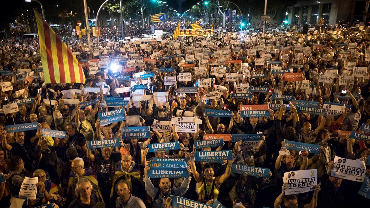 Spain suspend Catalonia's political autonomy