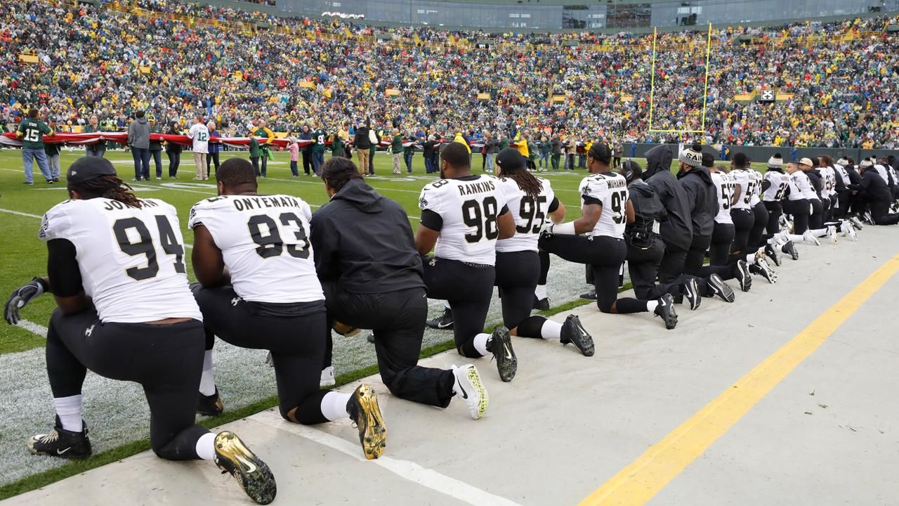 Sports Business Journal NFL writer Dan Kaplan on anthem protests and how they will affect sponsors.