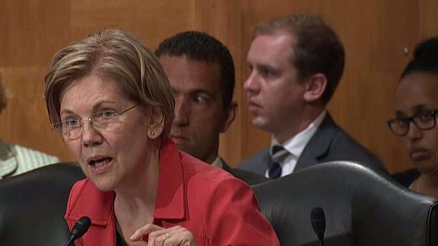 Senator Elizabeth Warren (D-MA) questions Wells Fargo CEO Timothy Sloan and suggests that he should be fired.