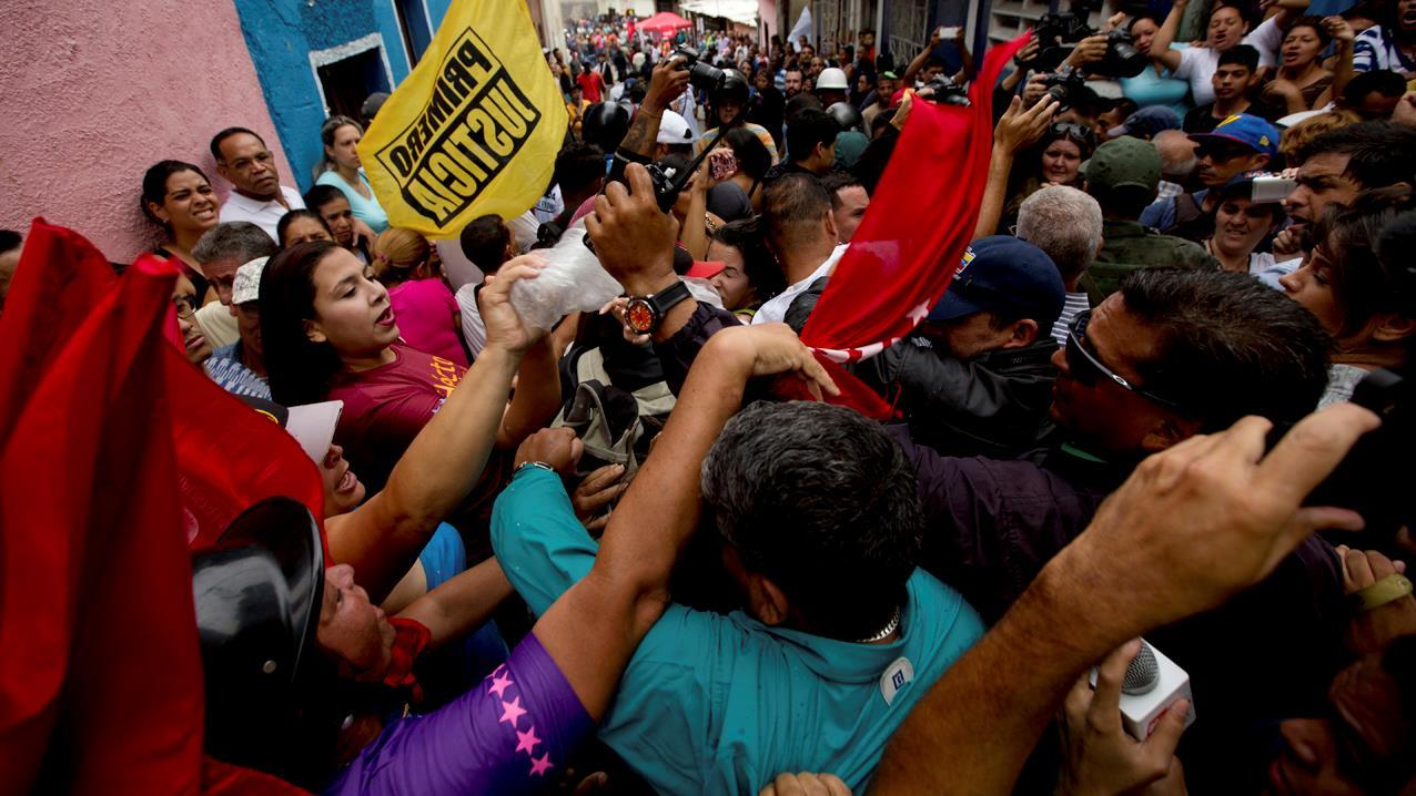 The Wall Street Journal columnist Mary Anastasia O'Grady on the crisis in Venezuela.