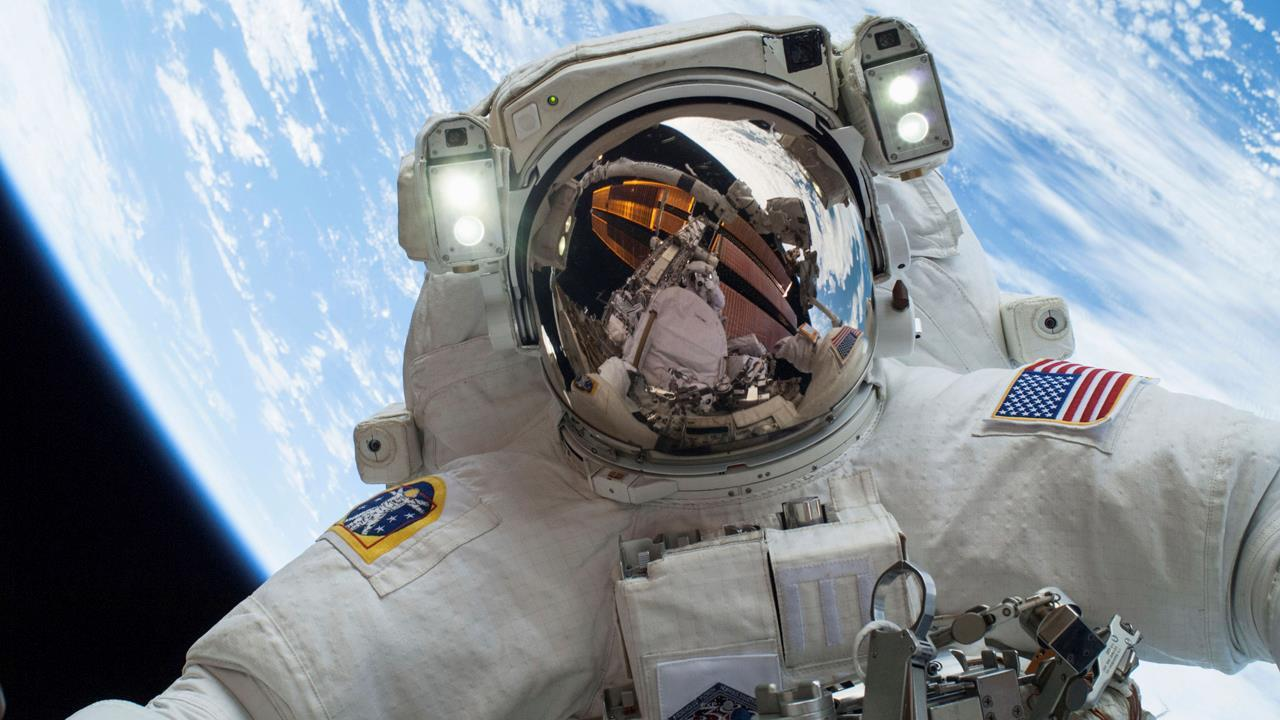 Former NASA Astronaut Eileen Collins on the spacewalks to fix a robotic arm on the International Space Station and America's strategy for space in the future.