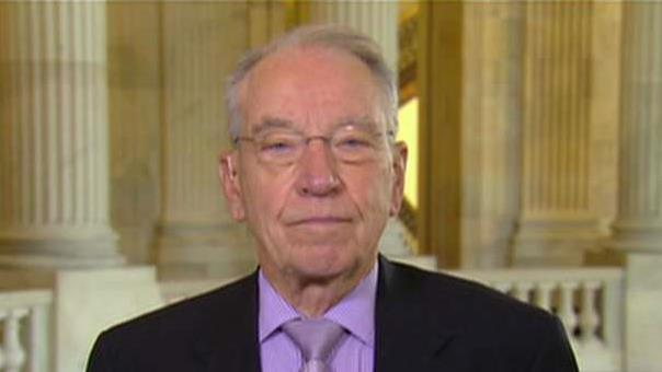 Sen. Chuck Grassley (R-IA) on phasing in the lower corporate tax rate.
