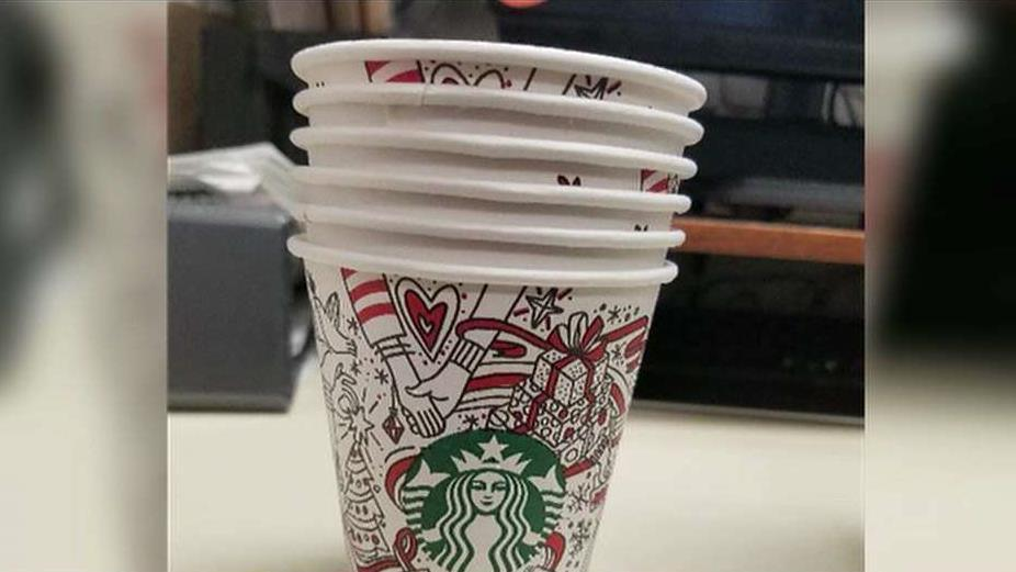 FBN's Tracee Carrasco on a leaked picture of a new Starbucks' holiday cup.