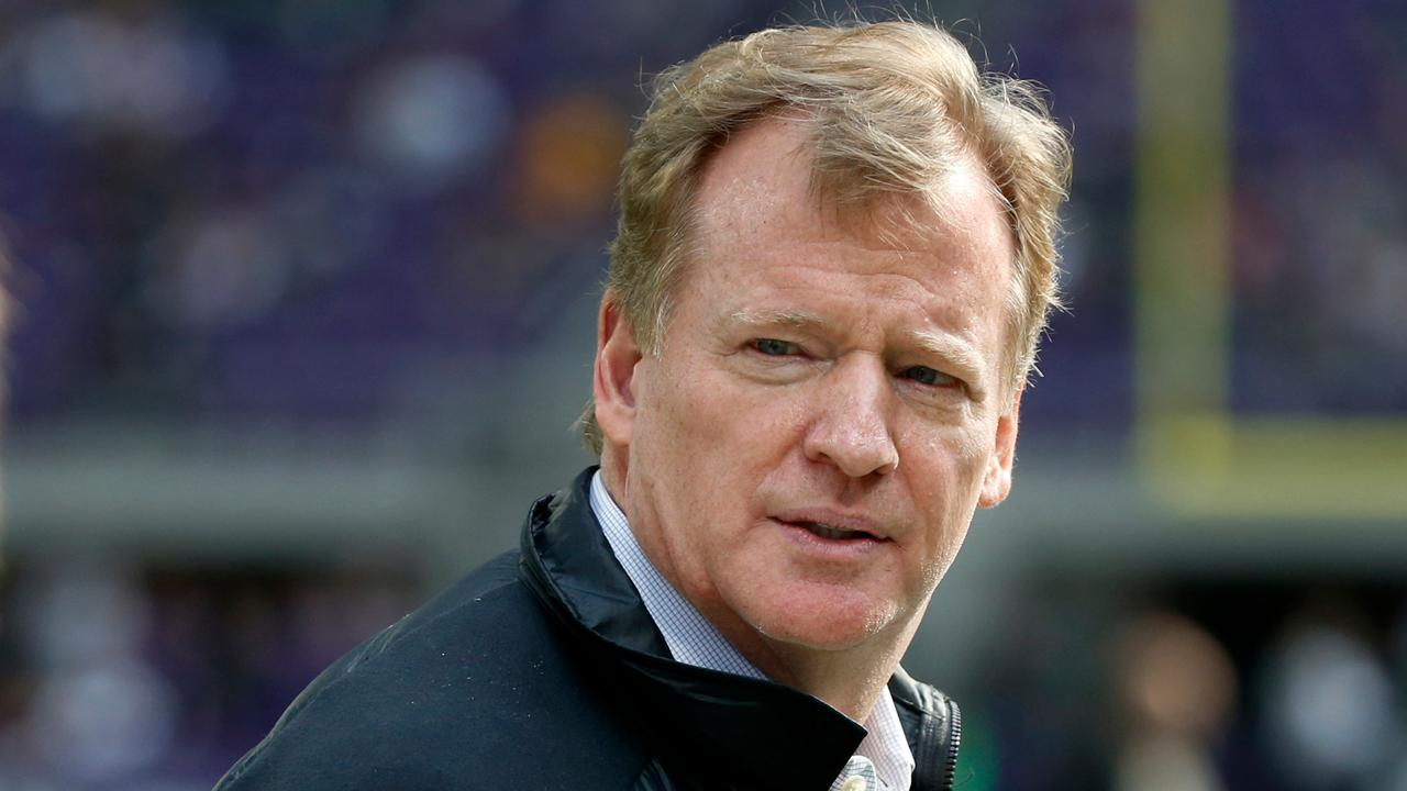 FBN's Connell McShane questions NFL Commissioner Roger Goodell about the political divide amongst NFL fans.