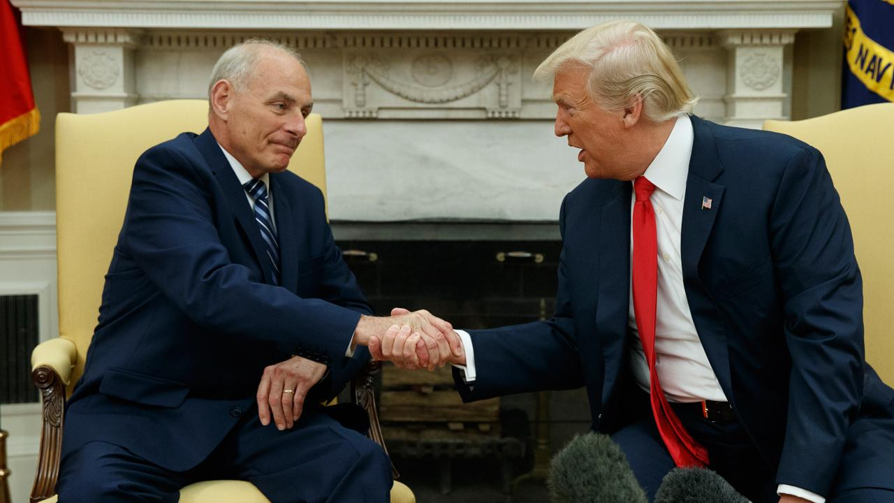 Counselor to President Trump Kellyanne Conway discusses Chief of Staff Gen. John Kelly's appearance at the White House press briefing on Thursday, during which he reprimanded journalists for writing thinly sourced stories.