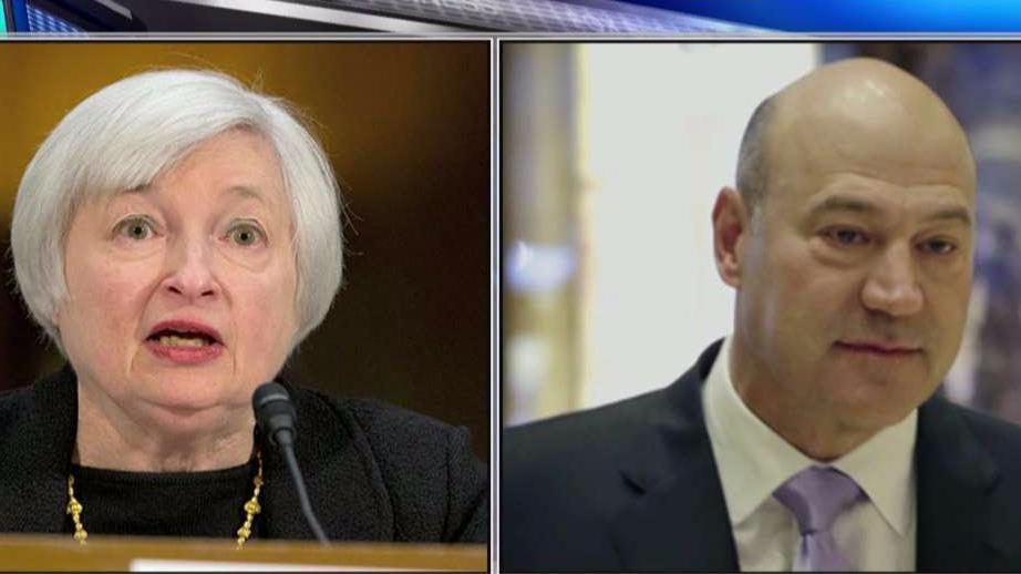 RealClearMarkets editor John Tammy weighs in on Fed Chair Janet Yellen's meeting with President Trump's chief economic adviser Gary Cohn at the White House.