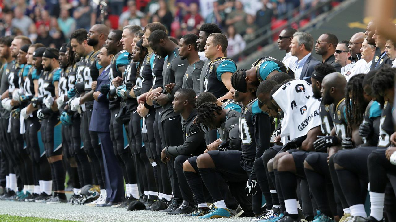 Former NFL safety Burgess Owens, former NFL linebacker Colin Allred and The Brewer Group Executive Chairman Jack Brewer on the NFL national anthem protests.