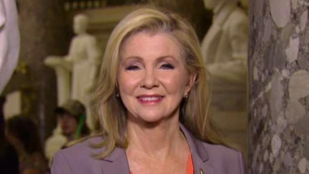 Rep. Marsha Blackburn (R-Tenn.) weighs in on Twitter's decision to reverse its position on campaign ad ban.