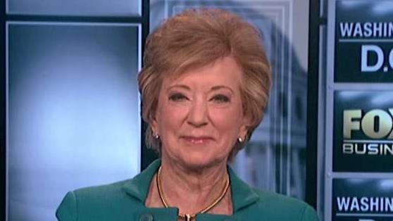 SBA Administrator Linda McMahon says small businesses around the country are hoping for tax cuts.