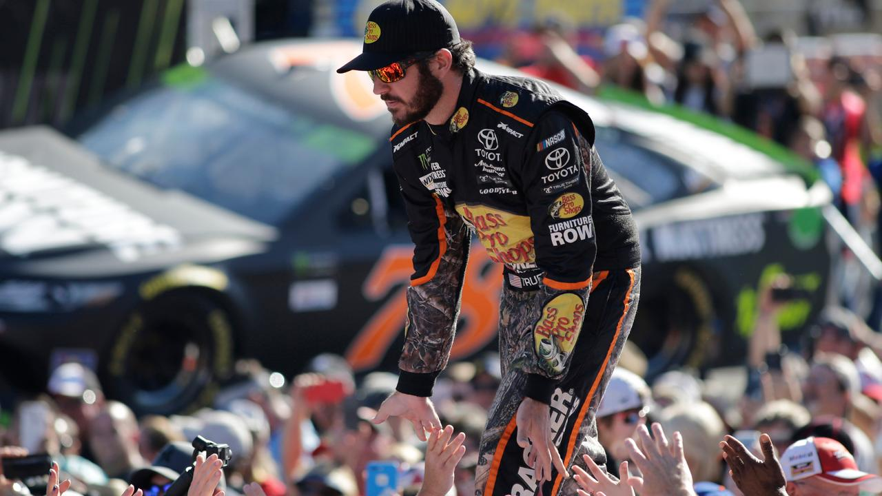 NASCAR's Martin Truex Jr. on his 2017 Cup championship, anthem protests, the Truex Foundation and the millionaires tax.