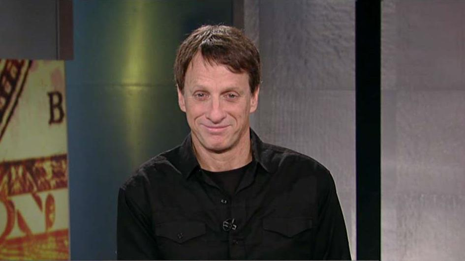 Professional skateboarder Tony Hawk on his skateboarding career, being a part of the Salvation Army's Fight for Good campaign and his business investments.