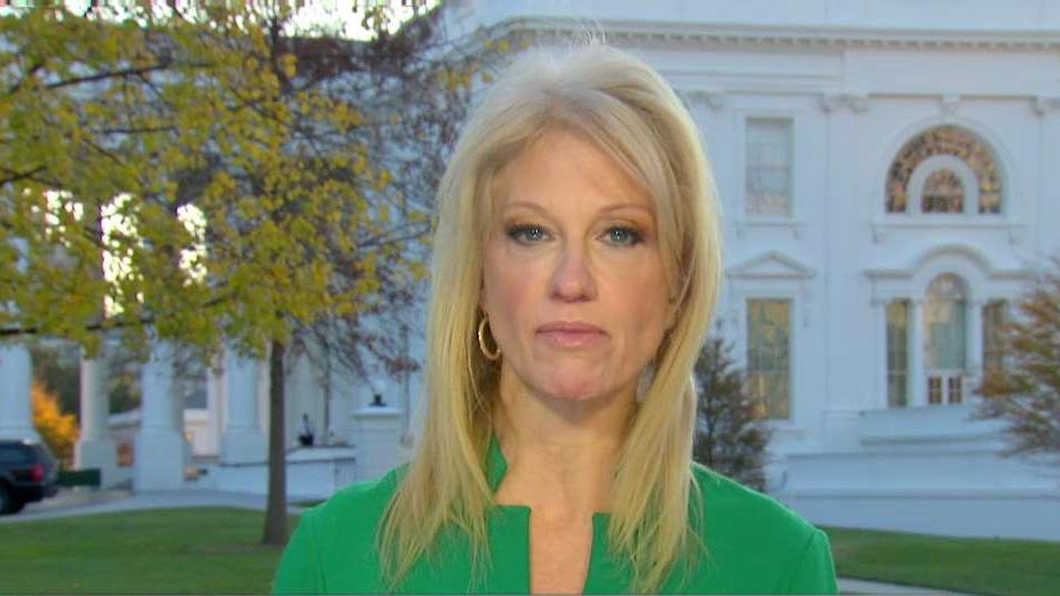 Kellyanne Conway, counselor to President Donald Trump, discusses the GOP tax reform push.