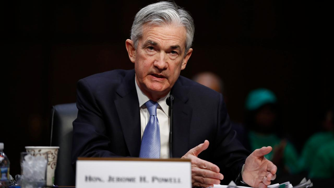 Federal Reserve Chair nominee Jerome Powell answers questions during his Senate confirmation hearing.