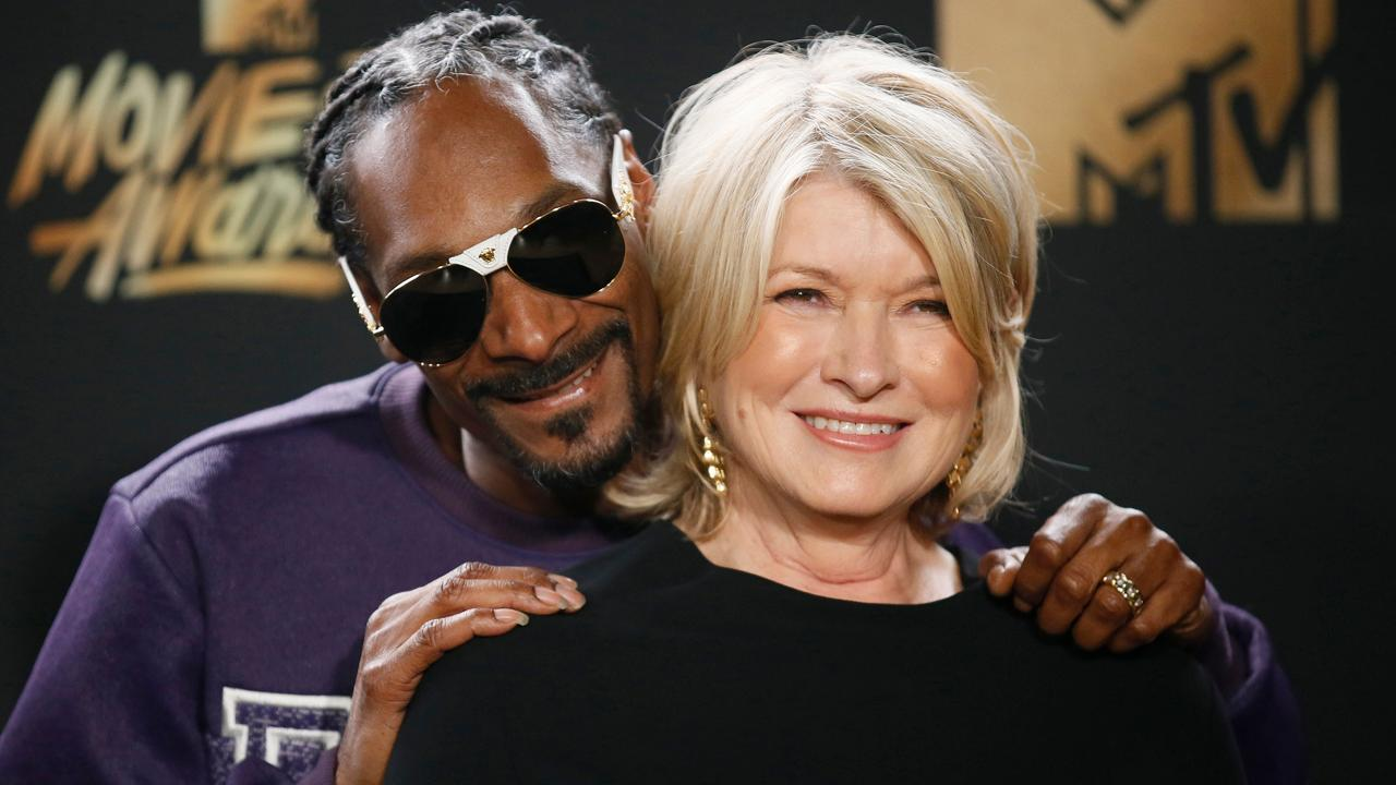 Martha Stewart Living Omnimedia founder Martha Stewart on her relationship with rapper Snoop Dogg and their hit cooking show 'Potluck Dinner.'