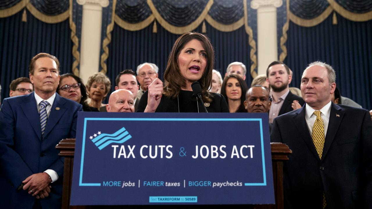 Rep. Kristi Noem, R-SD, on the estate tax under the GOP's new tax reform plan.