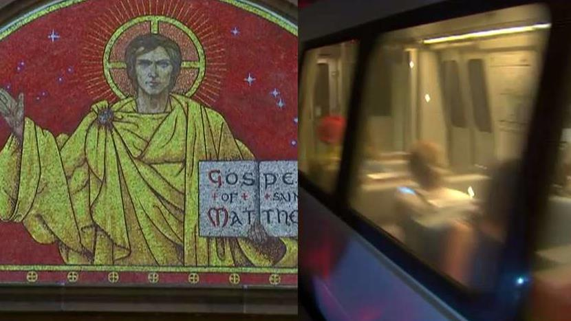Dr. Robert Jeffress of the First Baptist Church of Dallas says Washington D.C. Metro's attempt to block seasonal religious ad is an example 'spiritual harassment.'