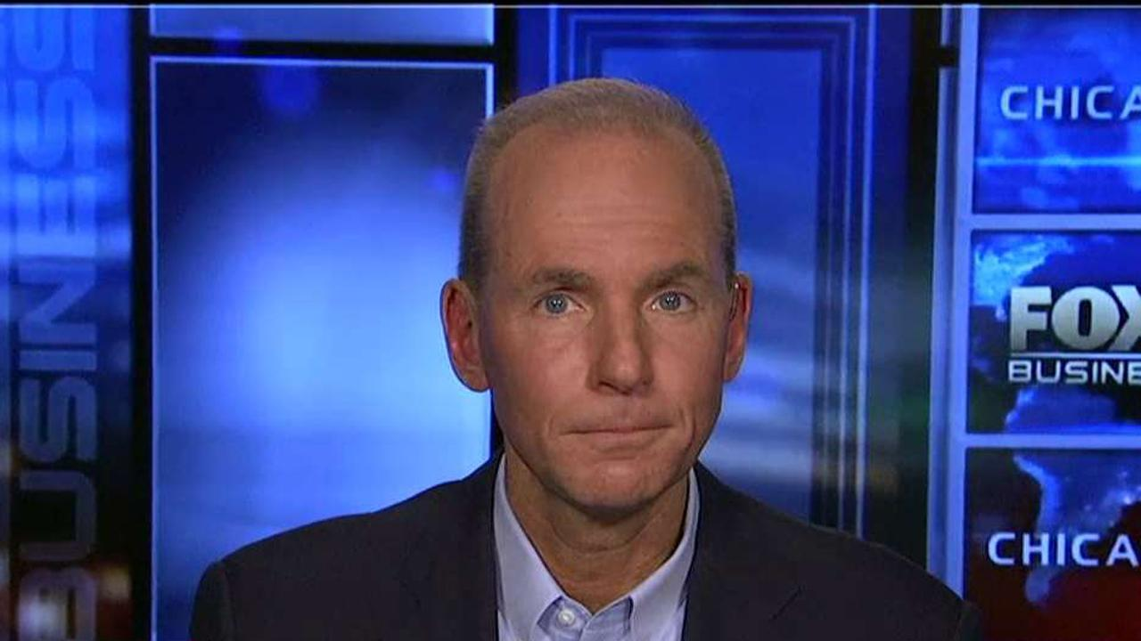 Boeing CEO Dennis Muilenburg on why he believes the GOP's tax reform plan will help stimulate the U.S. economy.