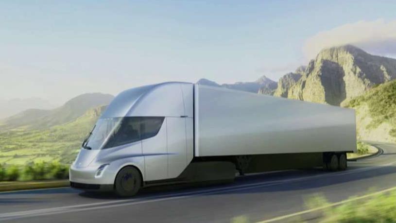 Truck driver Matthew Garnett reacts to the GOP tax bill and UPS buying 125 Tesla semi-trucks.