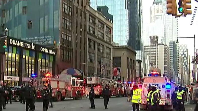 FBN's Maria Bartiromo and Dagen McDowell on the NYPD investigation into reports of an explosion at the Port Authority Bus Terminal.