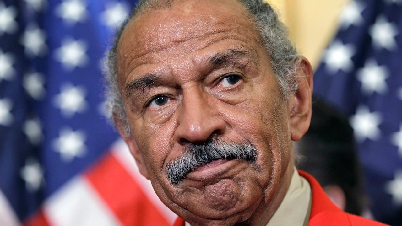 Rep. Diane Black (R-Tenn.) said Rep. John Conyers (D-Mich.) needs to resign following reports of sexual misconduct, and added that if the allegations against GOP Senate candidate Roy Moore are true, he should also step down.