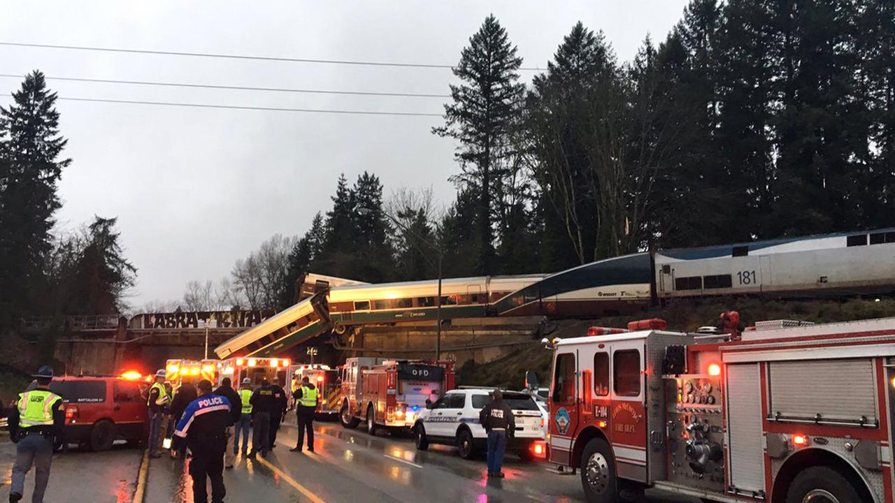 FOX Business' Connell McShane reports on the Amtrak passenger train derailment in the state of Washington.