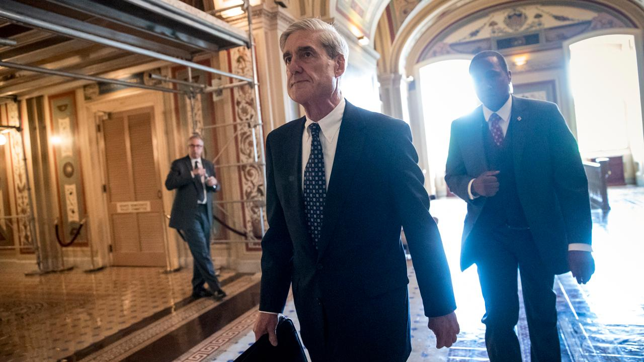 FBN's Kennedy on special counsel Robert Mueller's Trump-Russia investigation.