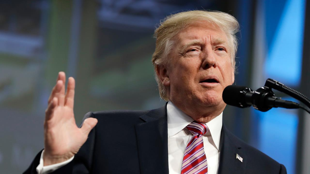 President Trump discusses the Republican tax reform plan.