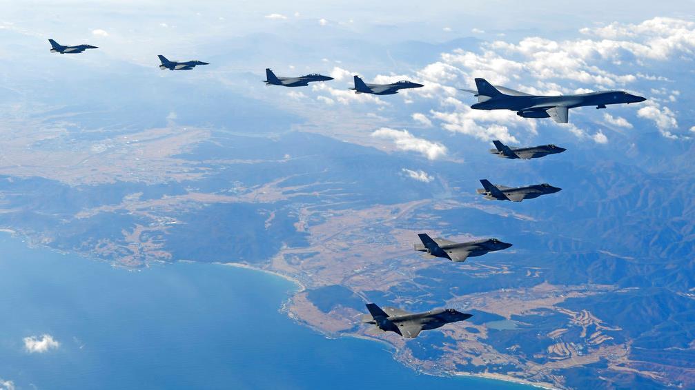Gen. Jack Keane, Fox News military analyst, on U.S. bombers flying over the Korean Peninsula for bombing exercises.