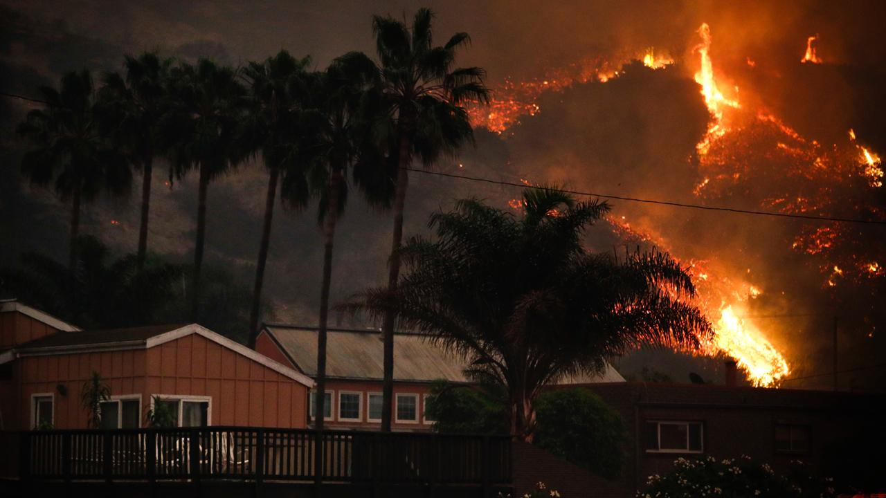 Joe Kapp Real Estate owner Joe Kapp describes what it was like to be evacuated twice from the California wildfires.