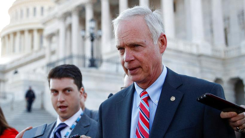 Sen. Ron Johnson (R-Wis.) will votes yes on the GOP tax reform bill.