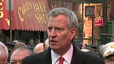 New York City Mayor Bill de Blasio says the Port Authority explosion was an attempted terrorist attack.
