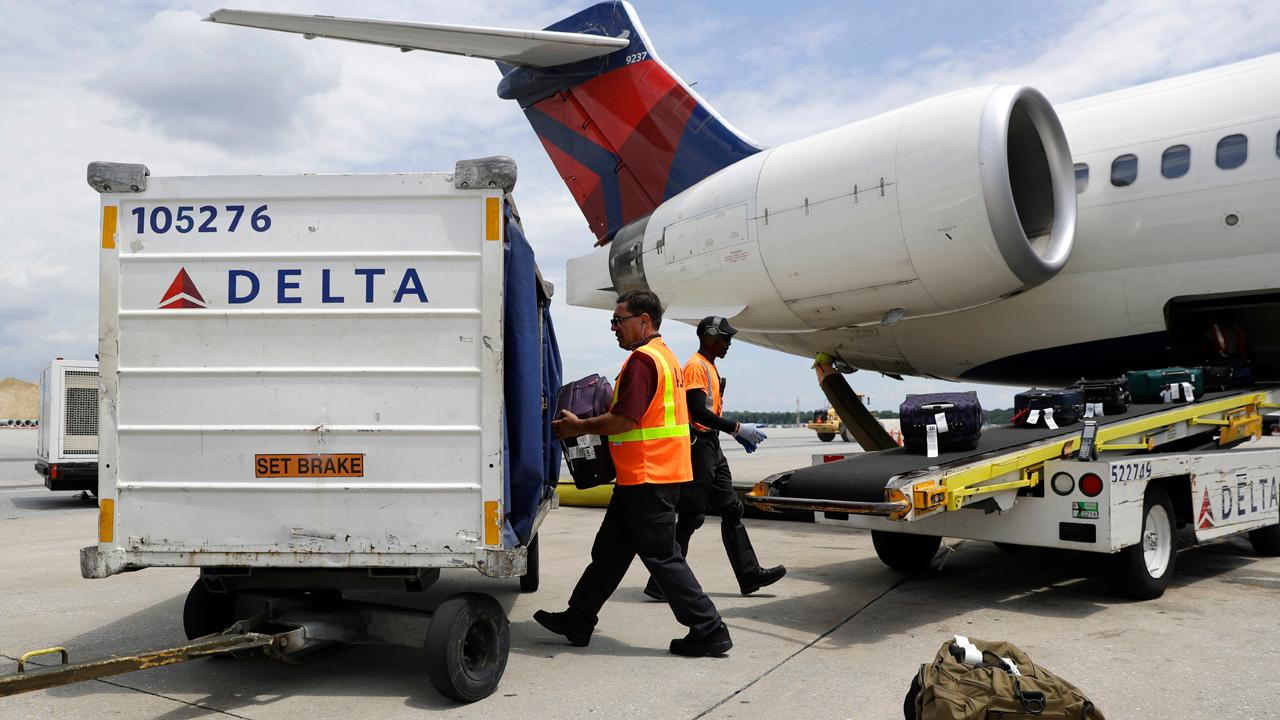 Delta Air Lines reports its fourth-quarter earnings results.