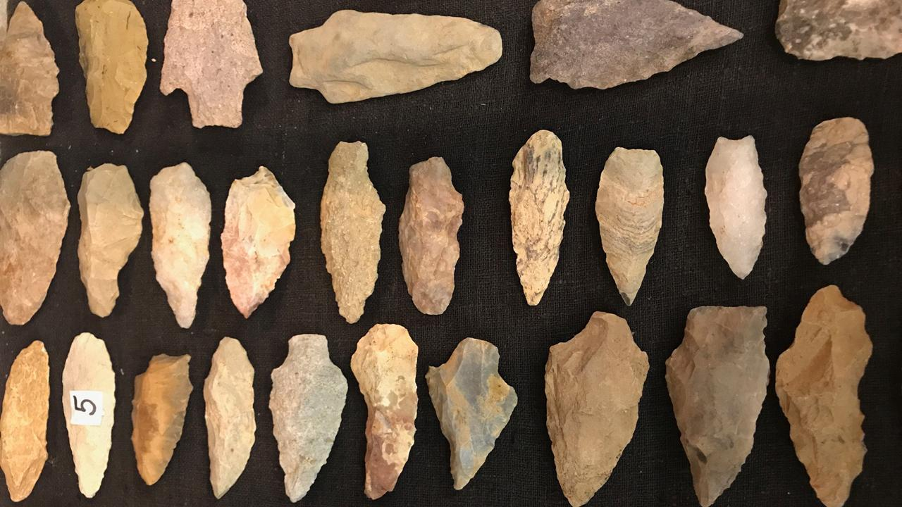 North Carolina man inherits 250,000 ancient Indian arrowheads. Catch a new episode of Strange Inheritance Monday at 9 p.m. ET.