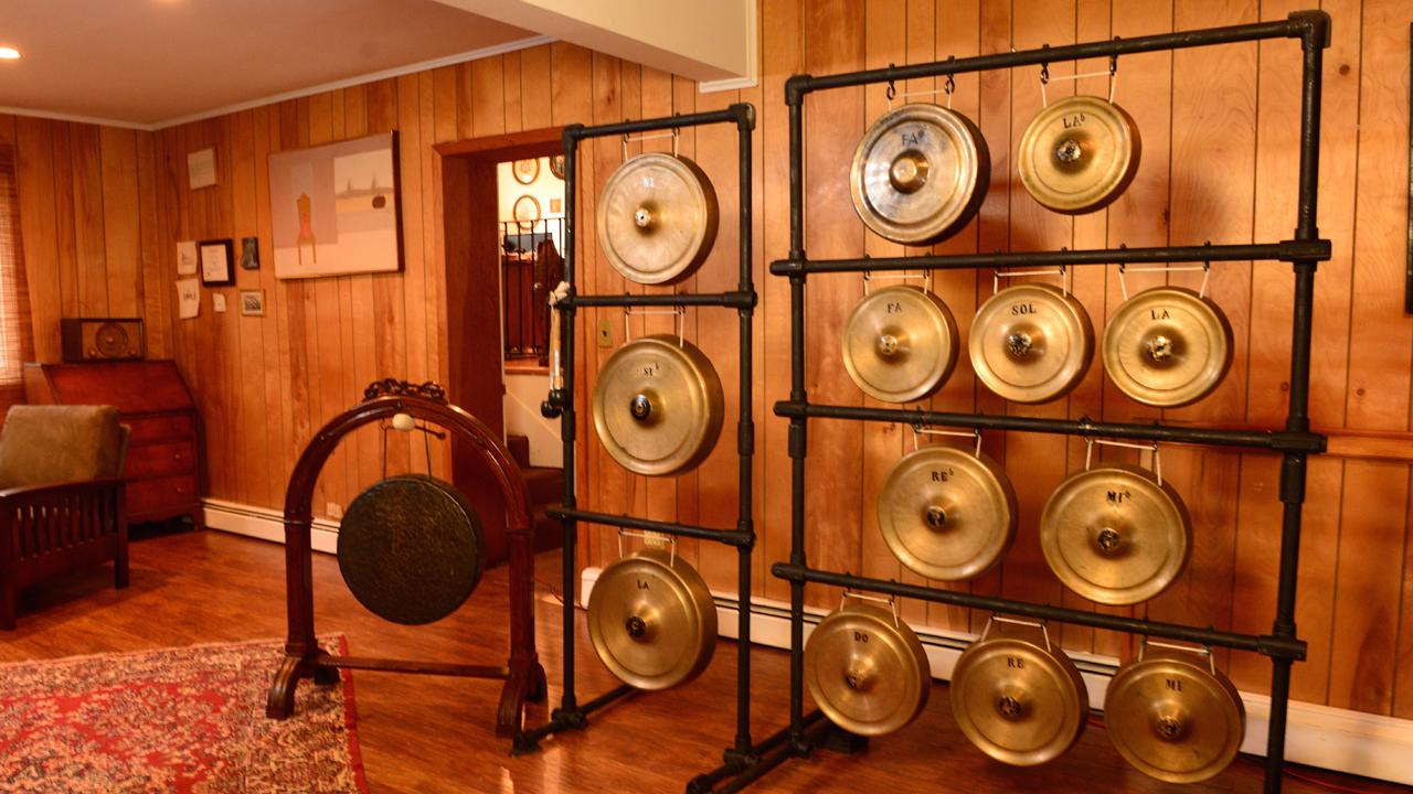 A New York woman inherits a priceless set of cymbals that famed Italian composer Giacomo Puccini had custom-made for his final opera.