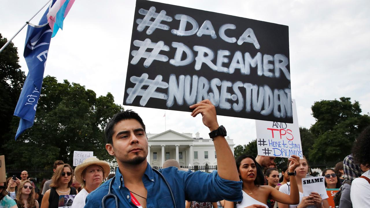 Sen. Bill Cassidy (R-La.) discusses whether Democrats and Republicans will be able to reach a bipartisan deal on border security and the Deferred Action for Childhood Arrivals initiative in 2018.