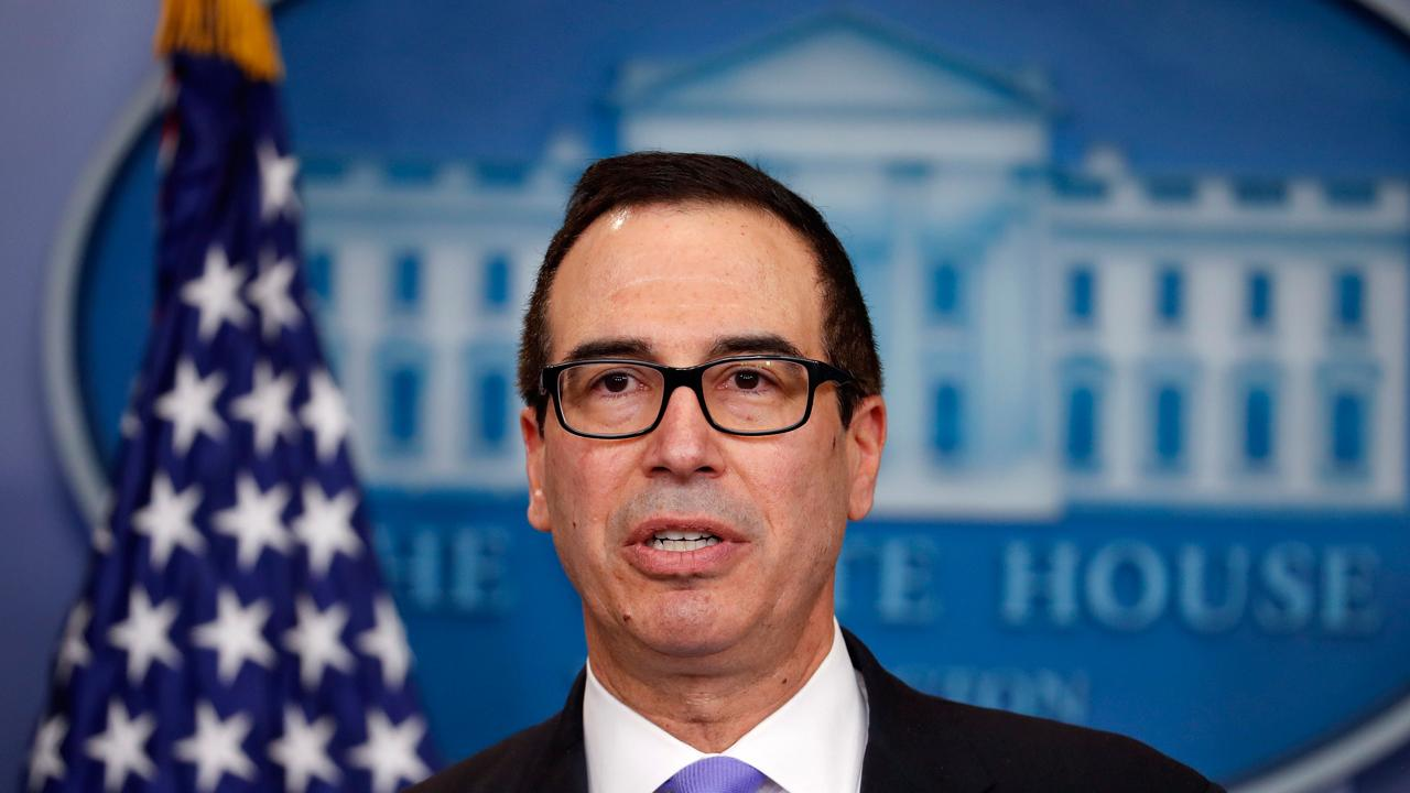 Treasury Secretary Steven Mnuchin discusses the new withholding guidance that will implement the GOP Tax Cuts and Jobs Act beginning in February.