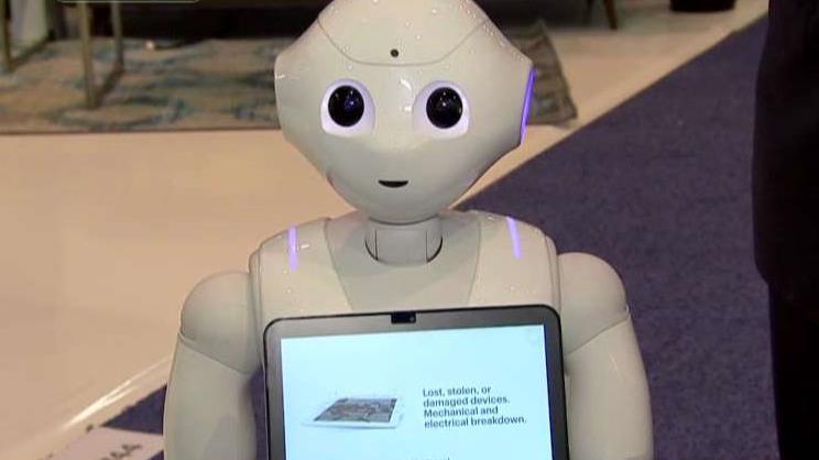 Sprint Business President Jan Geldmacher on the company's humanoid robot.