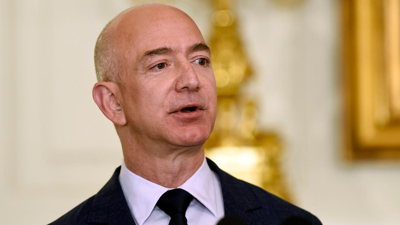 FBN's Cheryl Casone on Amazon founder and CEO Jeff Bezos becoming the world's richest person in history.